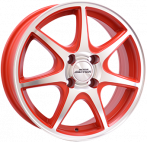 INTER ACTION 6,0X15 IA ICE 4/100 ET40 CH73,1 RED/POL