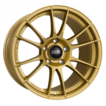 Billiga fälgar online  - 8X18 OZ Racing Ultralegg Gold 5/114,3 ET48 CH75