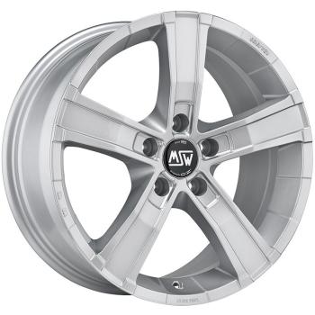 Billiga fälgar online  - 8X17 MSW Sahara 5 Silver 5/120 ET45 CH65