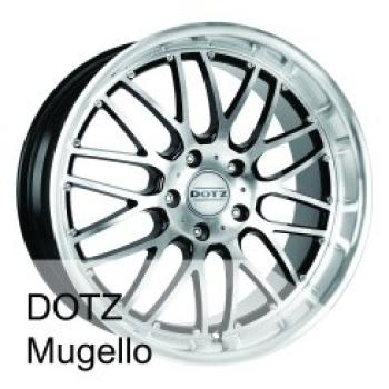 Billiga fälgar online  - 8X17 Dotz Mugello 5/120 ET20 CH74