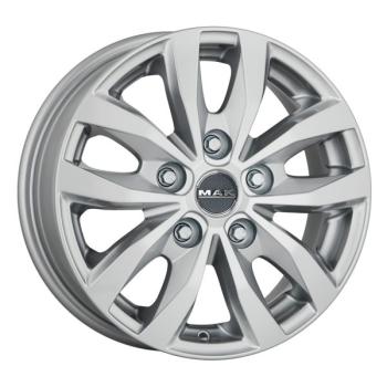 Billiga fälgar online  - 6,5X16 MAK Load 5 Silver 5/114,3 ET45 CH66