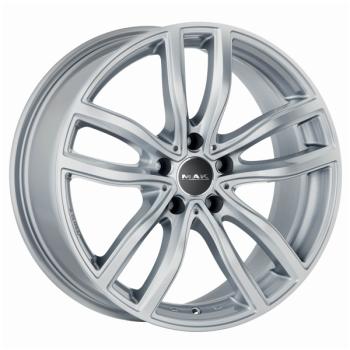 Billiga fälgar online  - 8X17 MAK Fahr Silver 5/120 ET45 CH72