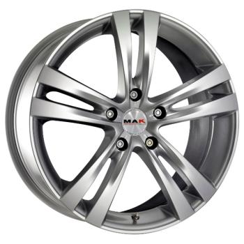 Billiga fälgar online  - 7X17 MAK Zenith Silver 5/108 ET50 CH72