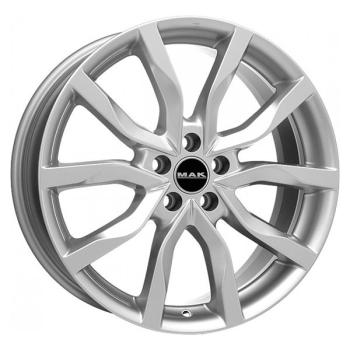 Billiga fälgar online  - 8X19 MAK Highlands Silver 5/108 ET45 CH63