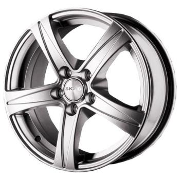 Billiga fälgar online  - 6,5X15 SKAD Sakura Hyper Silver 5/114,3 ET45 CH67