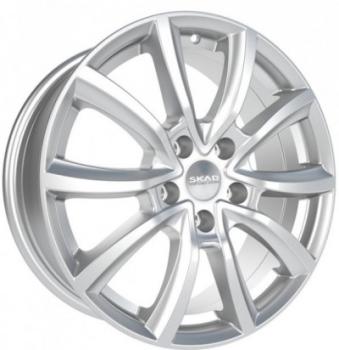 Billiga fälgar online  - 7X17 SKAD Ontario Hyper Silver 5/100 ET48 CH56