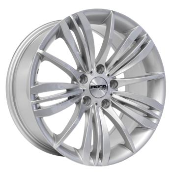 Billiga fälgar online  - 8X18 Nano BK623 Silver 5/120 ET33 CH72