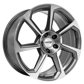 Billiga fälgar online  - 8,5X19 Nano BK5213 Grey Pol 5/112 ET30 CH66