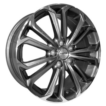 Billiga fälgar online  - 7X17 Nano BK667 Grey Polished 5/114,3 ET40 CH73