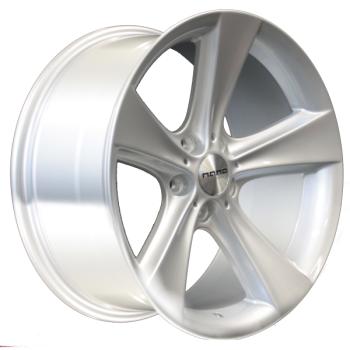 Billiga fälgar online  - 8X17 Nano BK086 Silver 5/120 ET20 CH74
