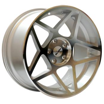 Billiga fälgar online  - 8X17 Nano L964 Silver Polished 5/112 ET35 CH66