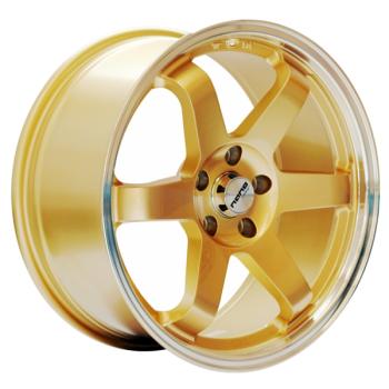 Billiga fälgar online  - 8,5X18 Nano L430 Gold pol lip 5/112 ET30 CH66