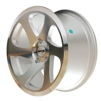 Billiga fälgar online  - 8X17 Nano L501 Silver Pol face 5/112 ET35 CH66