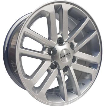 Billiga fälgar online  - 7,5X17 Nano BK627 Silver 6/139,7 ET30 CH106