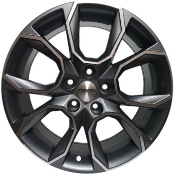 Billiga fälgar online  - 8,5X19 Nano BK5278 Grey Polished 5/112 ET42 CH66