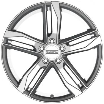 Billiga fälgar online  - 8X18 Fondmetal Hexis Gl Silver 5/112 ET40 CH66