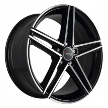 Billiga fälgar online  - 9,5X19 Avus AC515 Black Polished 5/112 ET45 CH66