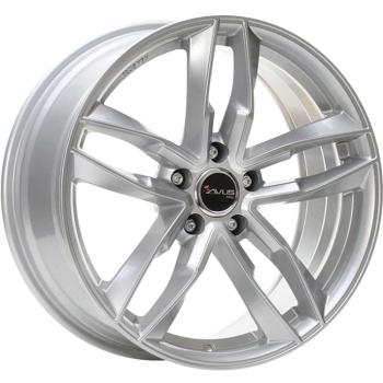 Billiga fälgar online  - 8X18 Avus AF16 Hyper Silver 5/112 ET35 CH66